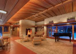 100 Frank Lloyd Wright Houses Interiors TKWA Restores 1940s Home In Wisconsin