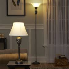 Mainstays Floor Lamp With Reading Light Brown by Ikea Floor Lamp Glass Shade Replacement All About Lamps All