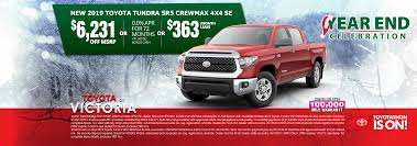 New Toyota Specials Near Corpus Christi   Toyota Of Victoria Partners Chevrolet Buick Gmc In Cuero Tx A San Antonio Victoria Craigslist Used Cars And Trucks For Sale By Owner Sign Works Image Maker Signs Banners Neon Vinyl Signage Ford Dealer Mac Haik Lincoln Lifted For In Texas 2019 20 Top Car Models Kinloch Equipment Supply Inc Accsories Sale Terrell Suvs New 2018 Toyota Highlander Review Features Of Sam Packs Five Star Plano Dealership Hattsville Vehicles Riverside Food Truck Festival Offers Platform New Vendors