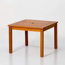 Eucalyptus Umbrella Side Table