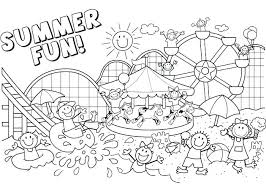 Printable Beach Coloring Pages Summer Page Kids Best Ideas On Pineapple Of Pictures Free B
