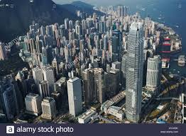 100 Hong Kong Skyscraper Aerial View Of Skyscrapers Stock Photo