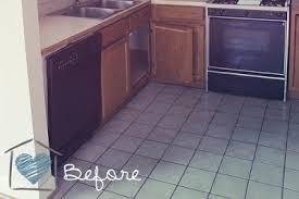 groutable vinyl tile easy tile makeover hometalk