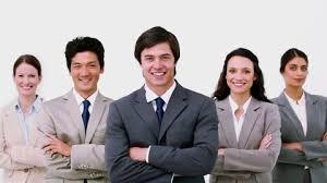 equipe bureau regarder femme d affaires employé de bureau hd stock