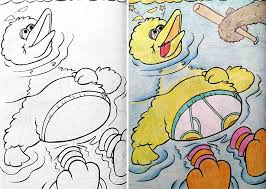 Funny Children Coloring Book Corruptions 30