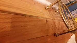 Hardwood Floor Buckled Water by Furniture Water Damage On Engineered Hardwood Floor Laminate