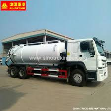 100 Septic Truck China HOWO 16cbm 6X4 Clean Tank S China Vacuum
