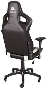 Corsair T1 Race Gaming Chair Black & White - South Africa Rseat Gaming Seats Cockpits And Motion Simulators For Pc Ps4 Xbox Pit Stop Fniture Racing Style Chair Reviews Wayfair Shop Respawn110 Recling Ergonomic Hot Sell Comfortable Swivel Chairs Fashionable Recline Vertagear Series Sline Sl2000 Review Legit Pc Gaming Chair Dxracer Rv131 Red Play Distribution The Problem With Youtube Essentials Collection Highback Bonded Leather Ewin Computer Custom Mercury White Zenox Galleon Homall Office