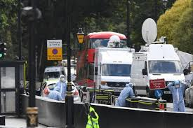 Deadpan Driver Sped Into Cyclists In Westminster Terror Crash