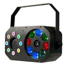American DJ Stinger Gobo LED Effects Light 3 in 1 Includes Remote
