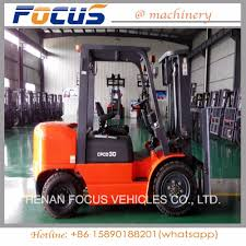 China Top Quality 3t Small Diesel Forklift Truck With 3m Lifting ...