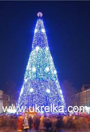 giant artificial christmas trees with led outdoor lighting id
