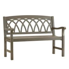 Wood Outdoor Benches Patio Chairs The Home Depot