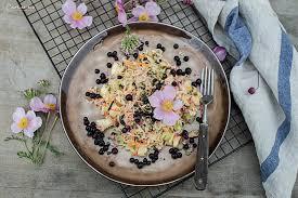 sauerkraut salat vom feld auf den teller