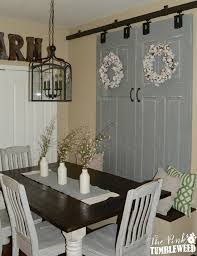 Sliding Barn Door Window Treatment :: The Pink Tumbleweed 29 Best Sliding Barn Door Ideas And Designs For 2017 Kit Home Depot Doors Bathroom My Favorite Place Decor Hidden Tv Set Rustic Diy Interior Sliding Barn Doors Interior We Currently Have A Standard French Door Between The Kitchen Gallery Arizona The Yard Great Country Garages Vintage Custom With Windows Price Is Interiors Awesome Window Hdware Basin Hdware Office Hdwebarn