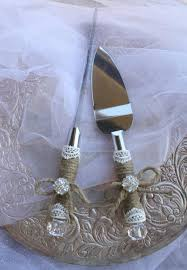 Wedding Cake Server And Knife Set