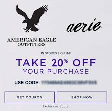 Details About 20% OFF American Eagle Outfitters & Aerie Promo Coupon Code  Ex 11/30/19 Intertional Asos Discount Codes November 2019 How To Work With Coupon Codes Regiondo Gmbh Knowledge Base Pic Scatter Code Online Pizza Coupons Pa Johns Mophie Promo Fire Store Carriage Hill Kennels Glenview Get Oem Parts Gap Uae Sale 70 Extra 33 Promo Code Perpay Beoutdoors Discount American Eagle Outfitters Coupons Deals 25 To Use Goldscent Coupon For Shoppers By Asaan Offers Off Nov