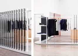 aux bureaux brook lyn crée la salle d exposition minimale de mode aux bureaux