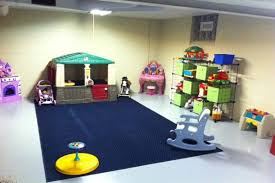 Cool Design Unfinished Basement Playroom Ideas Lovely Ideas