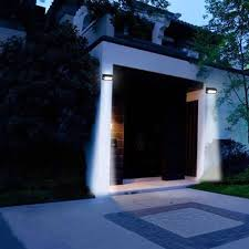 solar powered exterior wall lights and garden solutions