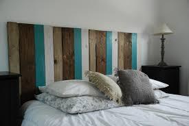 chambre avec tete de lit chambre tete de lit style bord de mer tete lit faite avec du avec