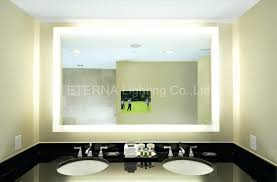 wall mirrors led lighted vanity wall mirror medium size of led