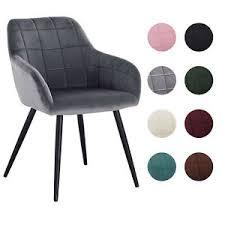 graue stühle aus samt günstig kaufen ebay