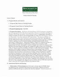 Example Letter Of Intent Grad School New Letter Intent Grad School