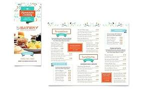 Family Restaurant Take Out Brochure Template Office Blank Tri Fold Word 2010