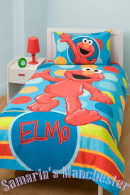 elmo crib sheets sesame street comic bedroom collection twin bed