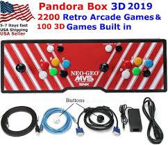 100 Spikes Game Zone Truck Mania Pandora Treausre 3D Arcade Video Game Console 2200 Retro Games N64