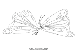 Caterpillar Coloring Sheet Pages With For Prepare Astonishing Cute Monarch
