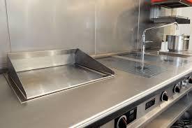 edelstahl arbeitsplatten für und in der küche küchenhaus