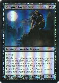 Mtg Lifelink Deathtouch Deck by Vampire Nighthawk Dci Foil Magic The Gathering Promo Cards