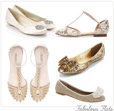 Perfect Flat Glitter Wedding Shoes 23