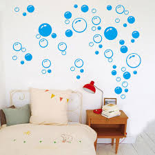 Decals For Bathrooms by Aliexpress Com Buy 2pcs Removable Waterproof Bubbles Pattern