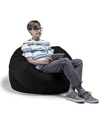 jaxx bean bag chair amazing deal on jaxx bean bag chair with removable cover 3 black