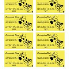 By Heidi Peckover Get Out Of Job Jail Free Card For The Office