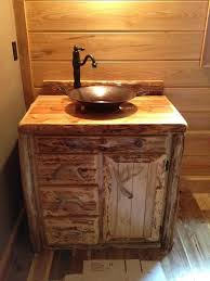 Rustic Bathroom Vanities Unique White Vanity Ideas Floating Style Modern Design Charmingly Square Wall Mirror Log Home Diy