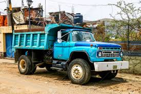 100 Ford Dump Trucks OAXACA MEXICO MAY 25 2017 Old Truck Fseries In