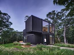 104 Pre Built Container Homes Mb Architecture Stacks Shipping S To Form Amagansett Holiday Home