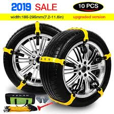 100 Snow Chains For Trucks Amazoncom Tire Anti Slip Adjustable Antiskid