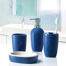 Bathroom Tumbler Used For by Navy Blue Bathroom Accessories Wayfair