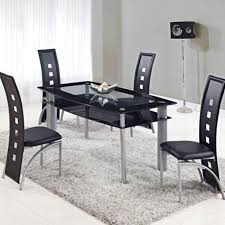 5 Piece Dining Room Sets South Africa by Best 25 Black Glass Dining Table Ideas On Pinterest Glass