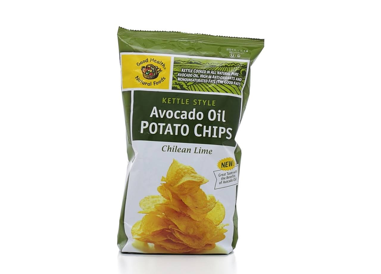 Good Health Kettle Chips, Avocado Oil, Lime Ranch - 5 oz