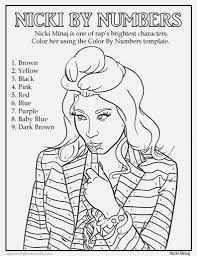 Color Number Coloring Pages For Adults Menmadeho