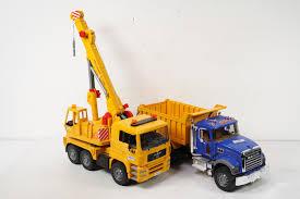 100 Bruder Mack Granite Liebherr Crane Truck BRUDER MACK Dump Tele Tc 4500 2600 PicClick