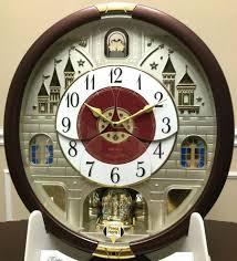 Seiko Moving Wall Clock Cosmopolitan Clocks Musical Chimes Neat Motion Collectors Edition It Melody