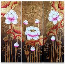 Buy Pink Lotus Painting Acrylic Flower Techniques