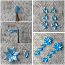 DIY Pretty Flower Hairpin Tutorial